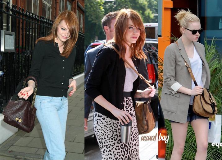 Emma Stone e seu estilo casual