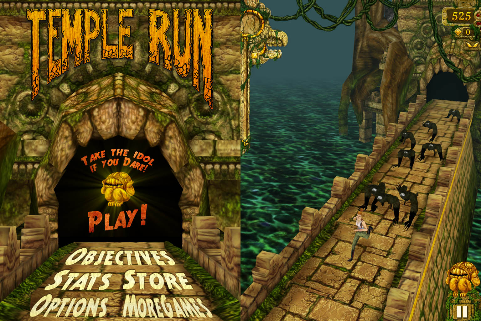 Minhas apps favoritas at agora color addicts for Temple run coloring pages
